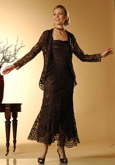 Soulmates D7069 Black Mother Of The Bride Dress