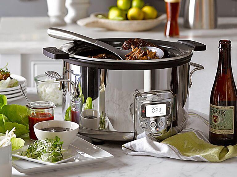 Slow cooker bridal shower gift idea