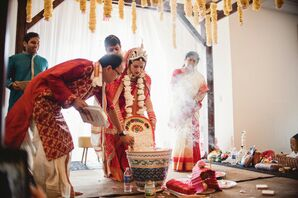Traditional Indian Wedding Ceremony in Michigan
