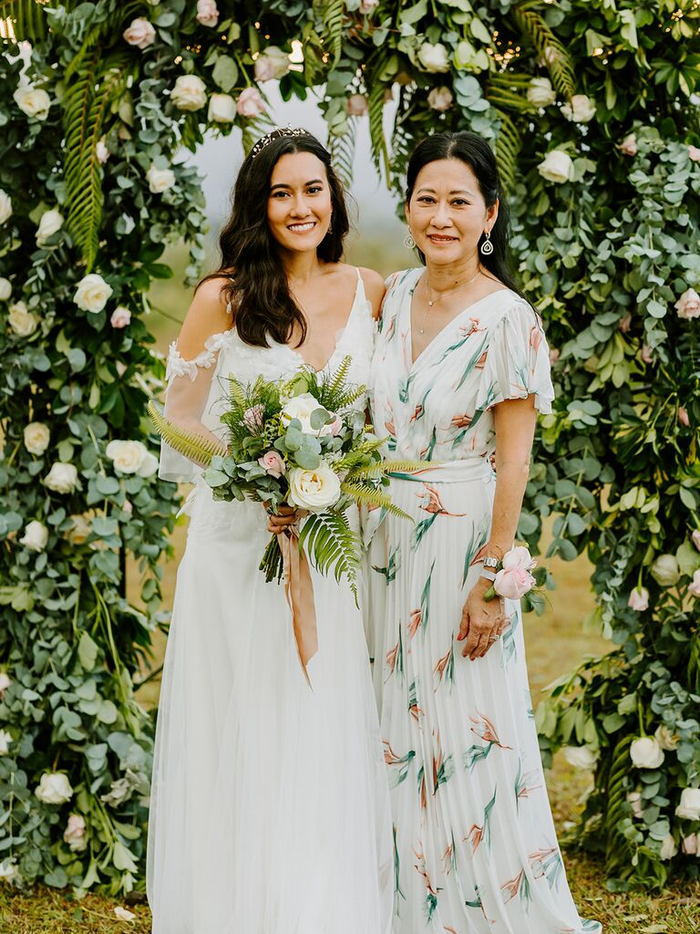 Eco-Friendly mother of the bride dress