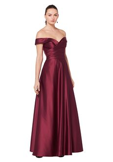 Bill Levkoff 1613 Off the Shoulder Bridesmaid Dress