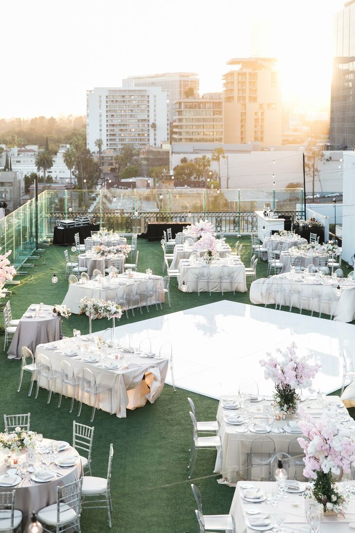 Rooftop Reception at The London West Hollywood at Beverly Hills