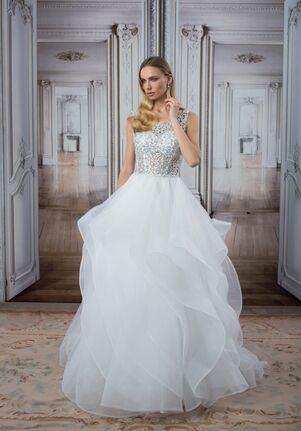 LOVE by Pnina Tornai for Kleinfeld 14420 A-Line Wedding Dress