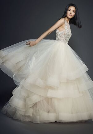 Lazaro 3708 Ball Gown Wedding Dress