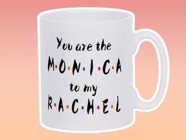 Friends themed mug for bridesmaid gift