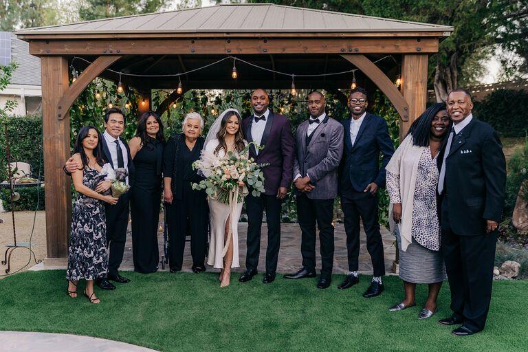 erin lim and joshua rhodes family wedding