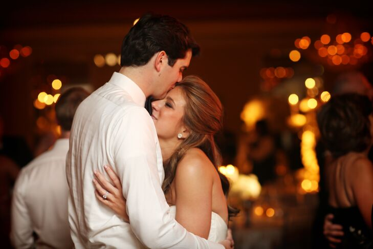 First Dance at Traditional Fall Wedding