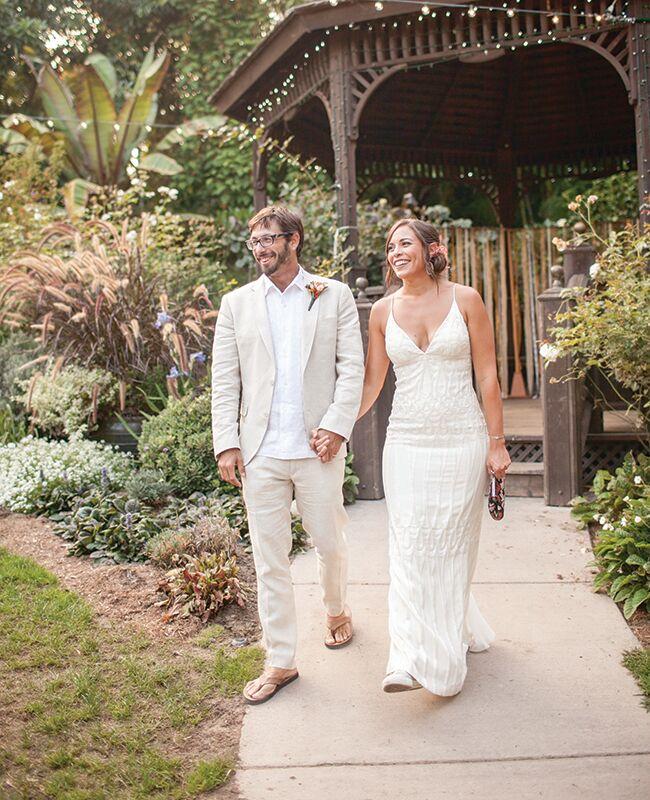Nicole Miller wedding dress | She Wanders | Blog.theknot.com