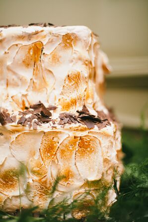 Decadent S'mores Wedding Cake