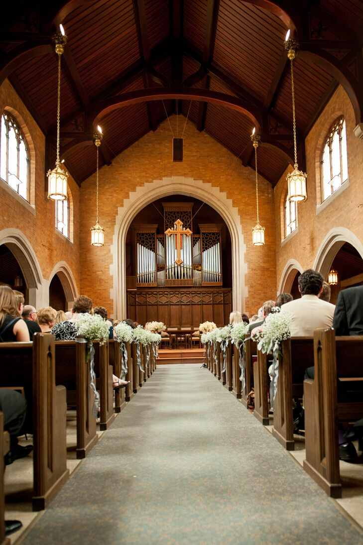 Wedding Ceremony at Plymouth Church