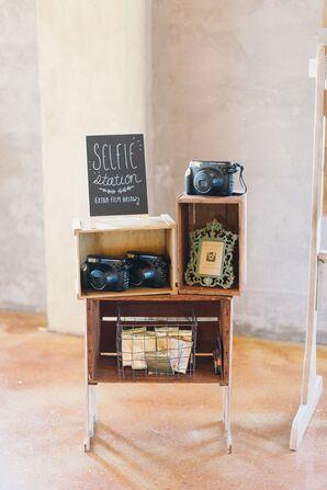 Rustic Antique Selfie Station