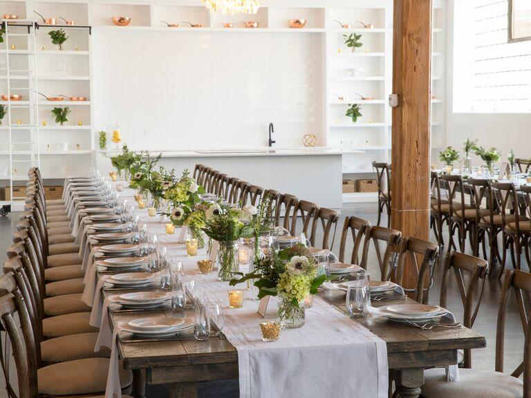 Chicago Reception Wedding Loft