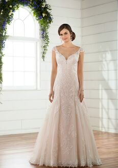 Essense of Australia D2406 A-Line Wedding Dress