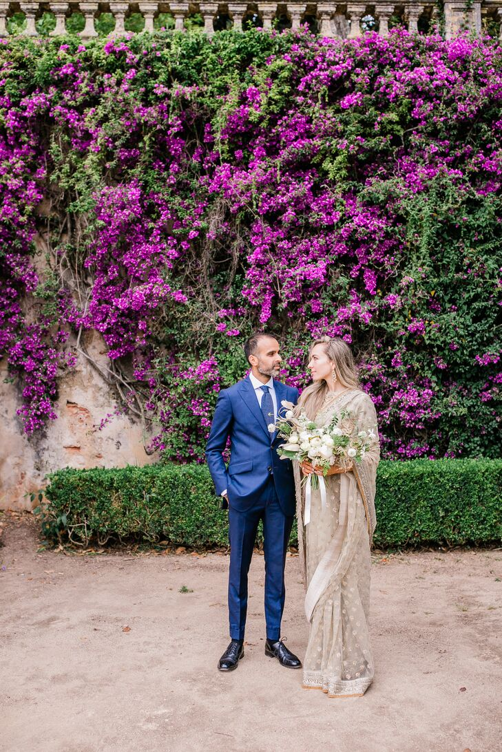 Kaja Jorgensen and Khaled Verjee blended their cultural backgrounds, love of travel and minimalistic tastes for a wedding in Lisbon, Portugal, for 115