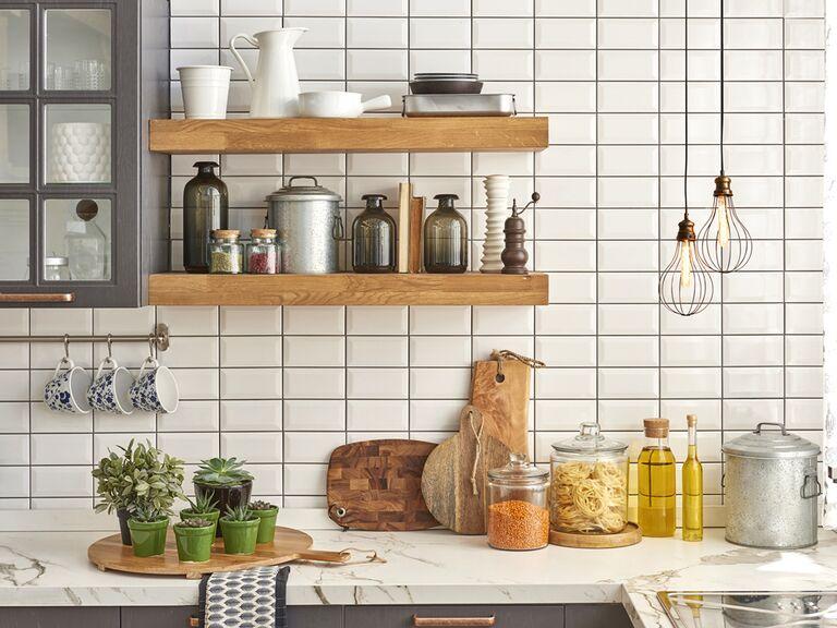 Registry kitchen items