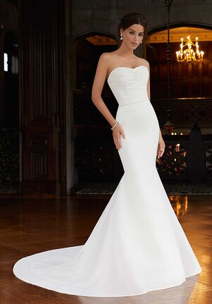 Morilee by Madeline Gardner/Blu Scarlett 5817 Mermaid Wedding Dress