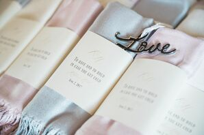 Blankets for Guest Favors