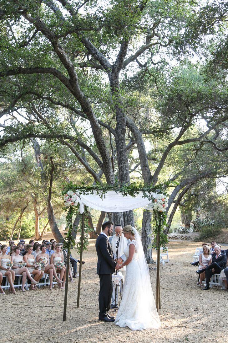 Outdoor Ceremony at Descanso Gardens