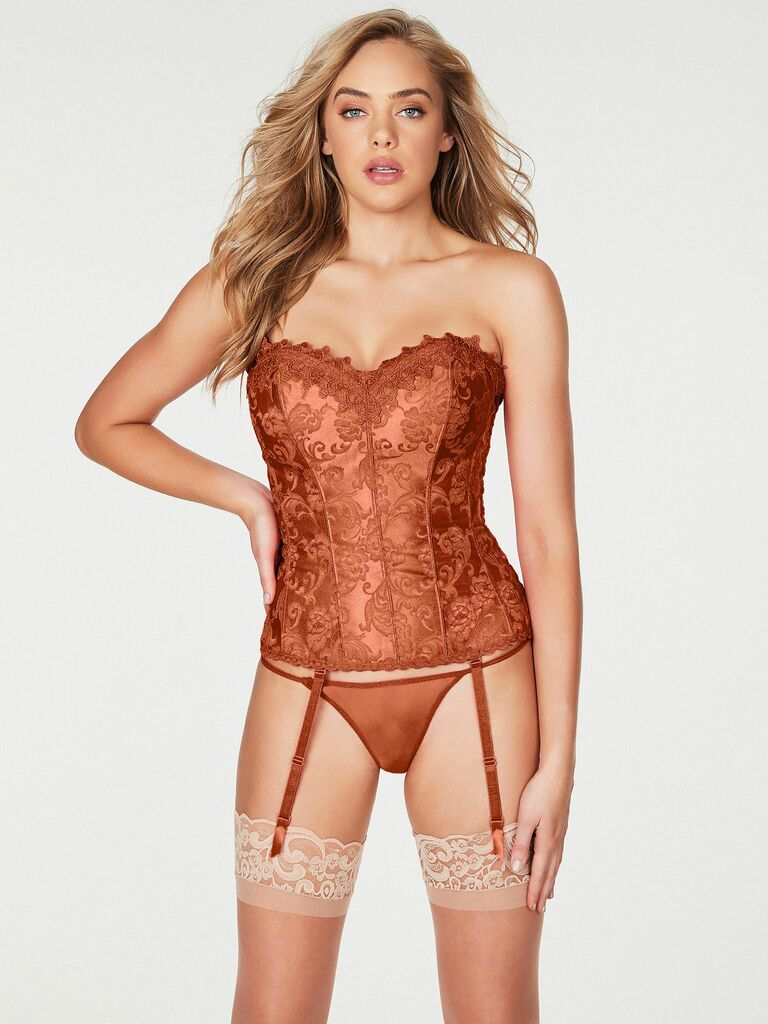 jacquard corset