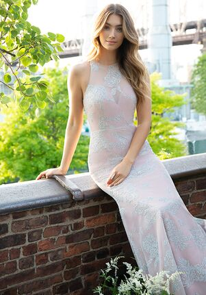 Hayley Paige Occasions 5853 Illusion Bridesmaid Dress