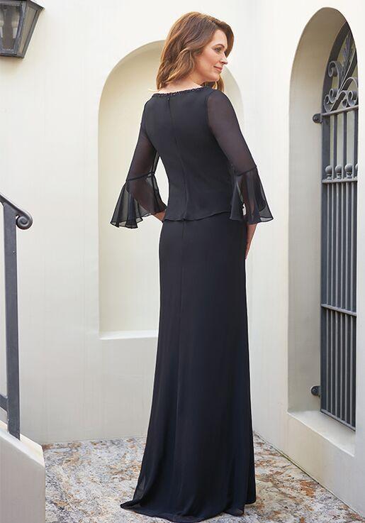 Jade Mother of the Bride by Jasmine J205055U Black Mother Of The Bride Dress