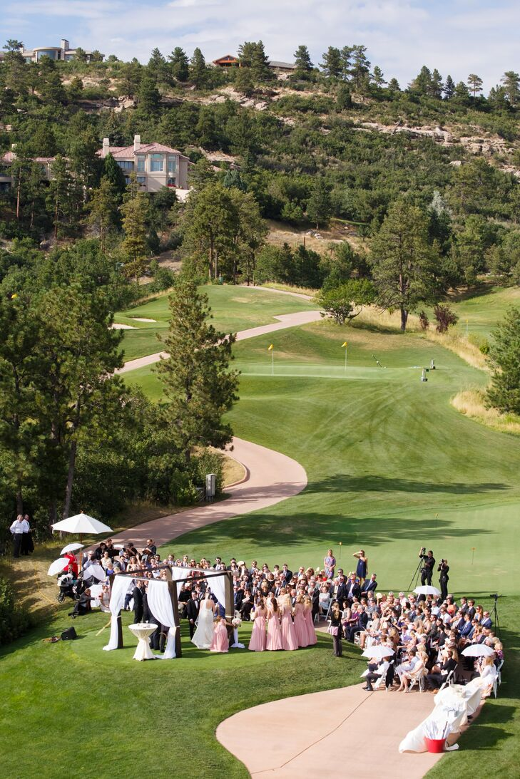 Outdoor Ceremony on Golf Course