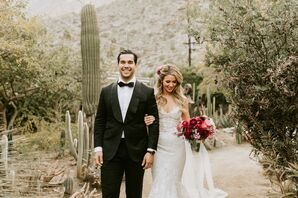 Elegant Couple at Colony 29 in Palm Springs, California