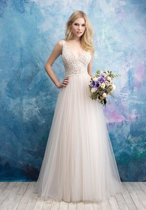 Allure Bridals 9552 A-Line Wedding Dress