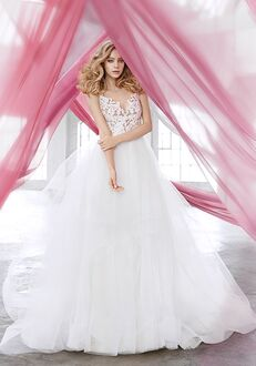 Blush by Hayley Paige 1600 Halo Ball Gown Wedding Dress