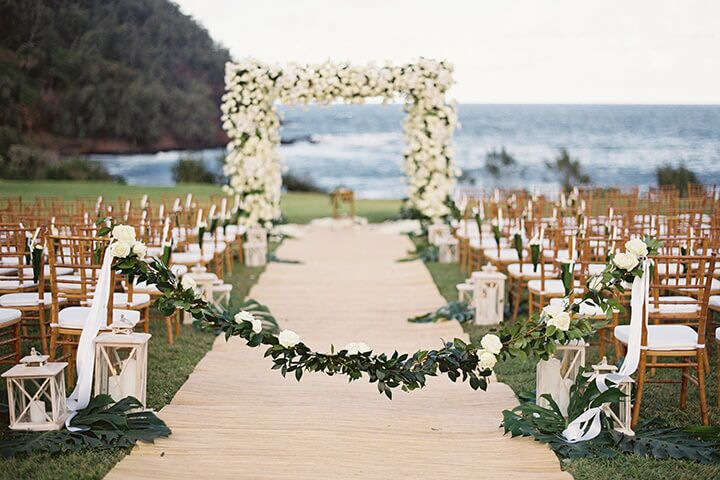 Wedding reception venues in honolulu hi the knot travaasa hana maui junglespirit Images