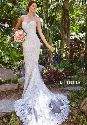 KITTYCHEN AURORA, H1956 Mermaid Wedding Dress