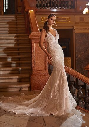 Moonlight Couture H1480 Mermaid Wedding Dress