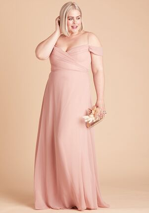 Birdy Grey BC2011RQ Off the Shoulder Bridesmaid Dress