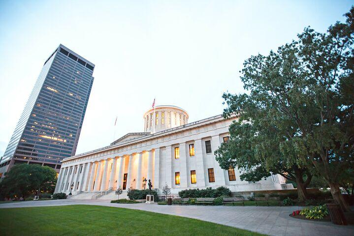 Ohio state house layout