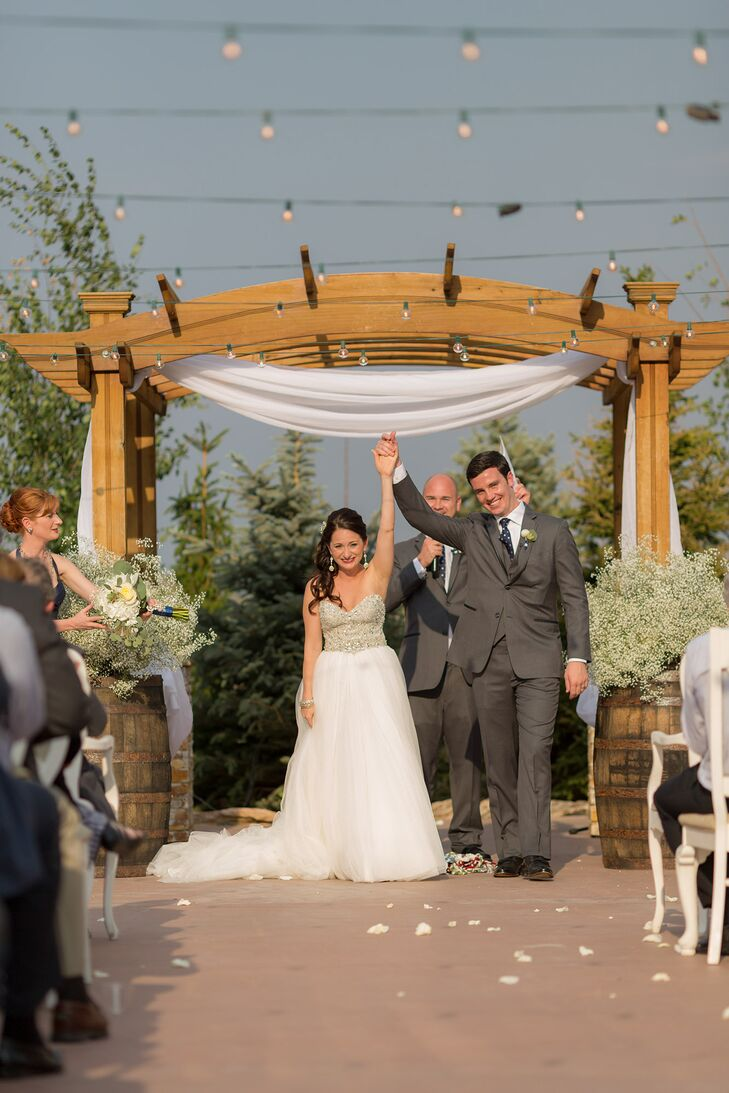 Aurielle and Dave Recessional