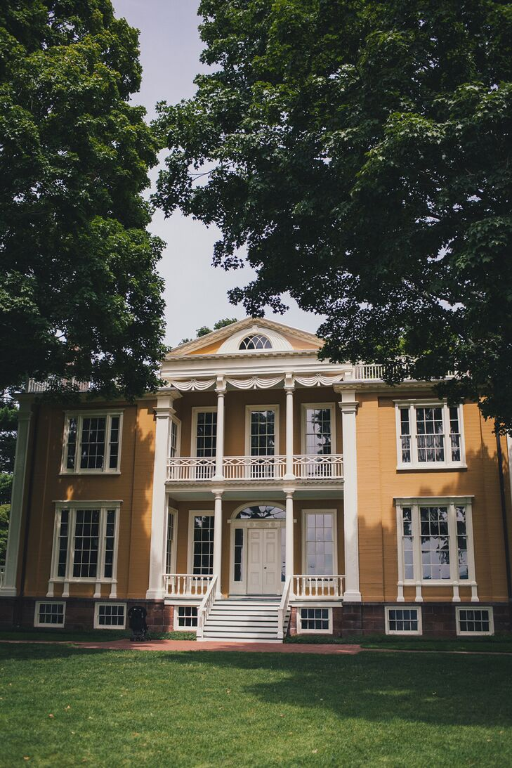 """Overlooking the Hudson River Valley, Boscobel is such a beautiful and historic piece of property,"" says Cora."