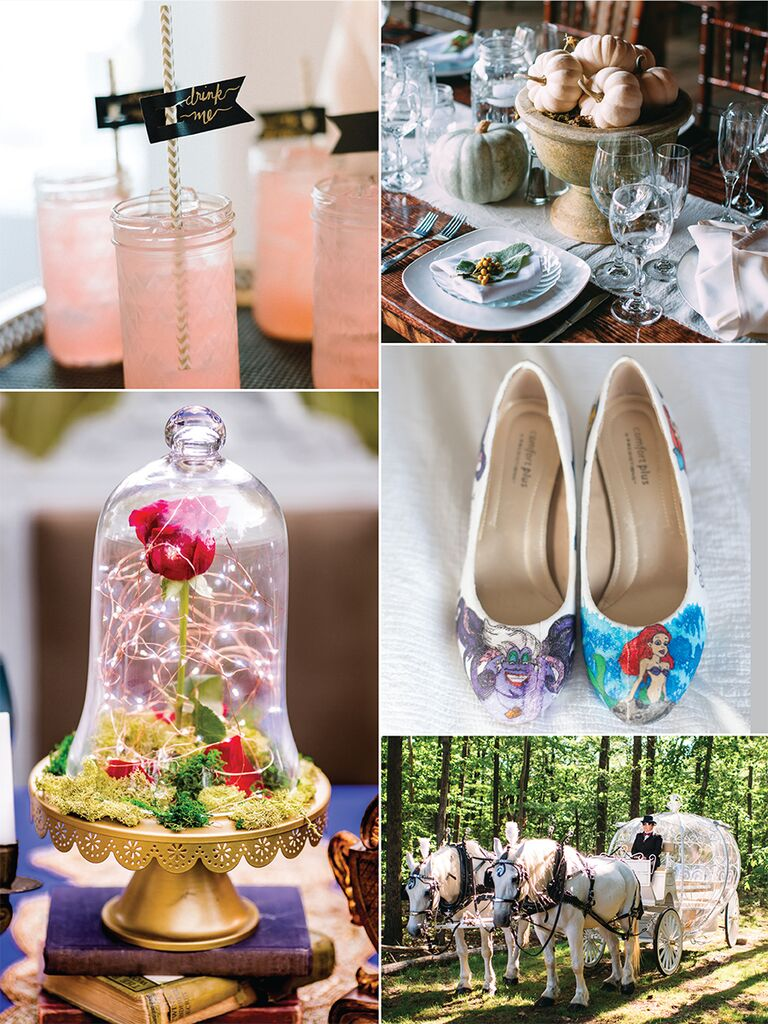 Superb 19 Disney Wedding Ideas That Arent Cheesy Home Interior And Landscaping Eliaenasavecom