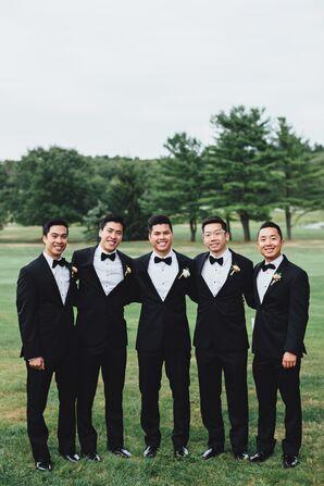 Black Vera Wang Tuxedos