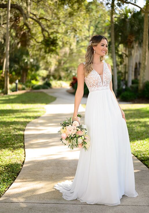 Stella York 7207 A-Line Wedding Dress