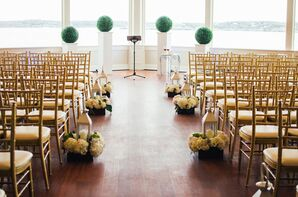 Ocean Cliff Hotel Newport Ceremony