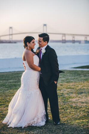 Modern Seaside Wedding