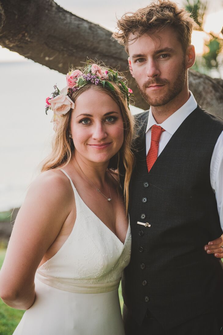 Amy Biller (28 and works in public relations and marketing) had always wanted to get married at her family's friend's gorgeous estate in Del Mar, Cali