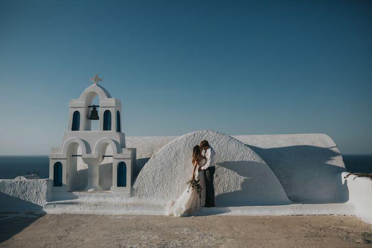 Santorini Honeymoon Photos