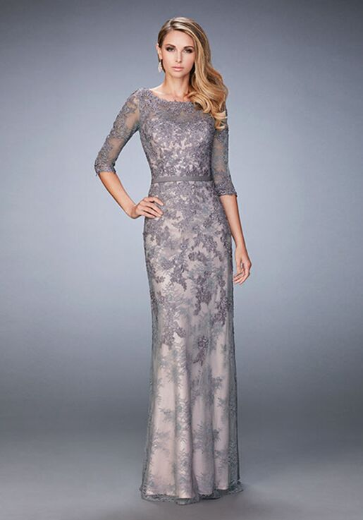 la femme evening 21740 mother of the bride dress  the knot