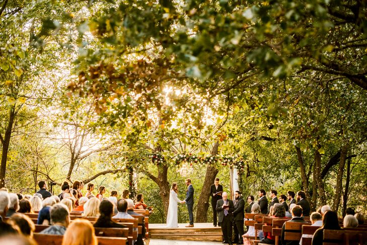 Outdoor Ceremony at Southwind Hills in Goldsby, Oklahoma