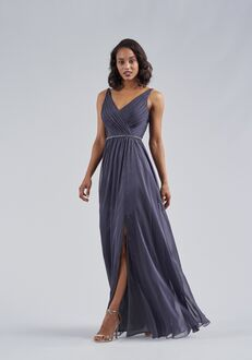 Belsoie Bridesmaids by Jasmine L214053 V-Neck Bridesmaid Dress