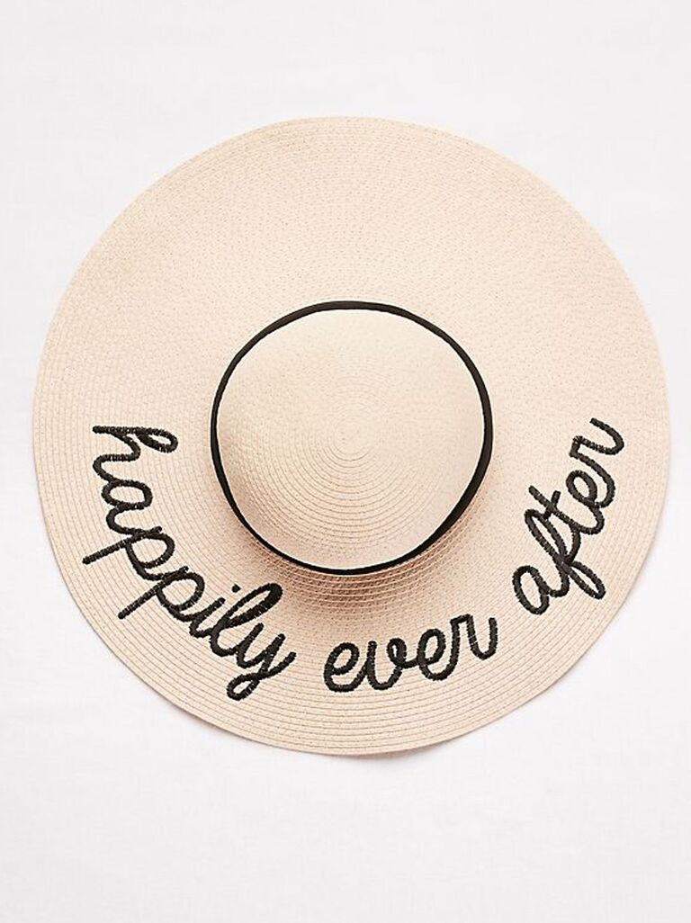 ​David's Bridal Happily Ever After sun hat