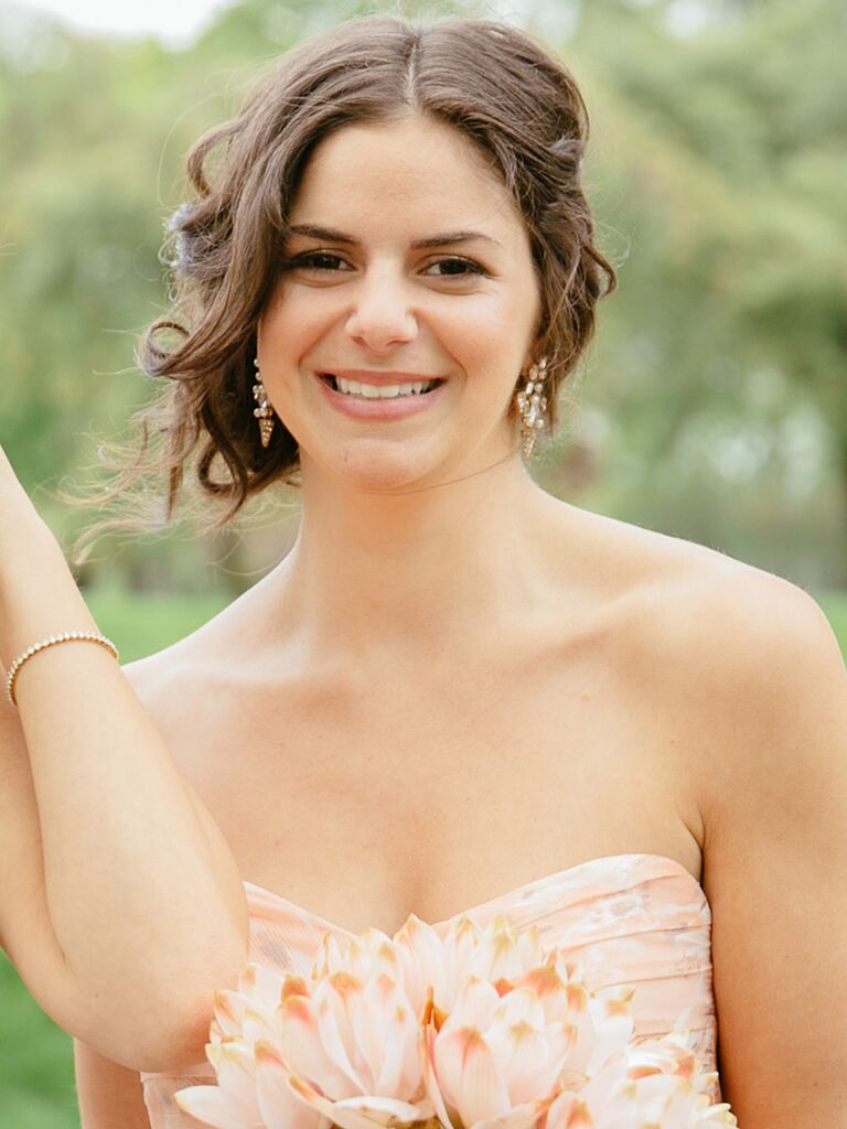18 perfectly messy bridesmaids hairstyles
