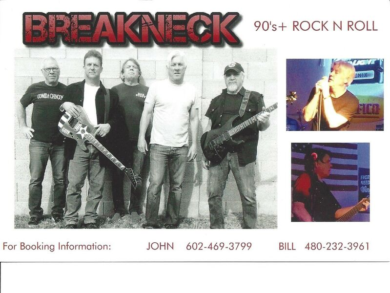 Breakneck - Cover Band - Phoenix, AZ