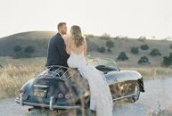 Brittany Wilkins and Jeff Paulo had a classic, romantic wedding at Kestrel Park in Santa Ynez, California. The big day was inspired by Outside Lands,